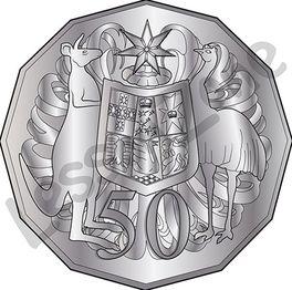 Australia, 50c coin