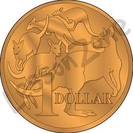 Australia, $1 coin