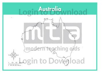 Australia (outline)