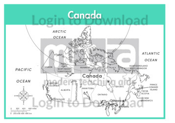Canada (states labelled outline)