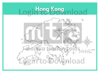 Hong Kong (outline)