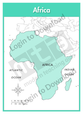 Africa: Continent (labelled)