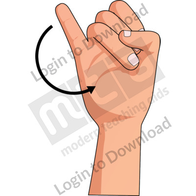 American Sign Language: J