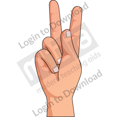 American Sign Language: K