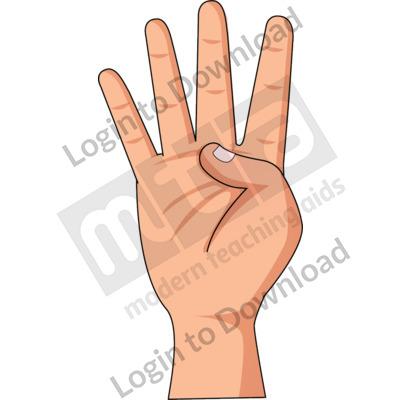 American Sign Language: 4