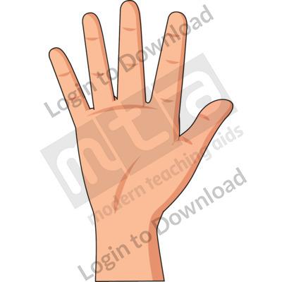 American Sign Language: 5