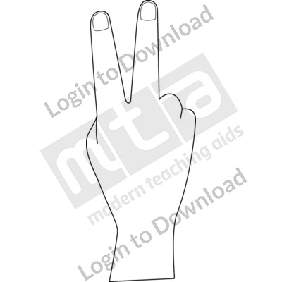 British Sign Language: 2 B&W