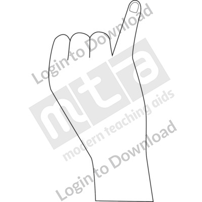 British Sign Language: 6 B&W