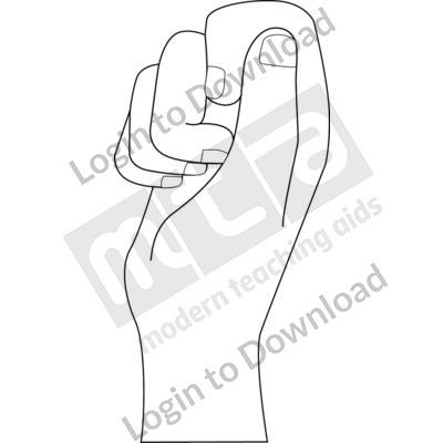 British Sign Language: 10 B&W