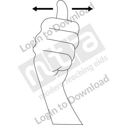 American Sign Language: 10 B&W