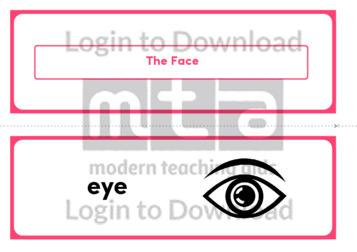 The Face (Landscape 2/page)