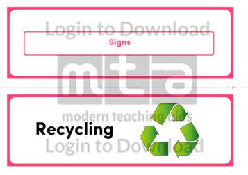 Signs (Landscape 2/page)