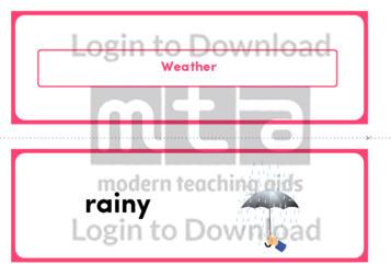 Weather (Landscape 2/page)
