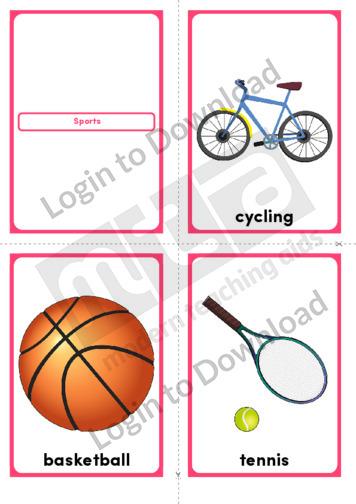 Sports (Portrait 4/page)