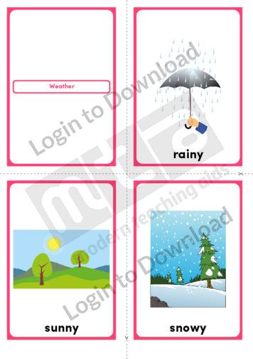 Weather (Portrait 4/page)