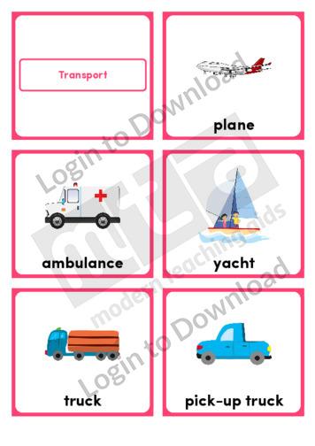 Transport (Portrait 6/page)