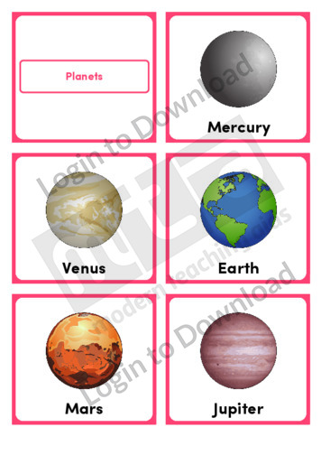 Planets (Portrait 6/page)