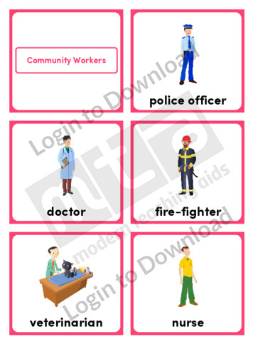 Community Workers (Portrait 6/page)