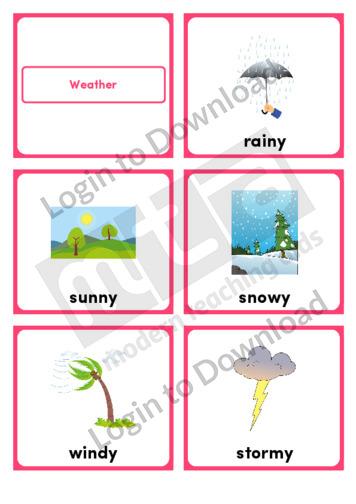 Weather (Portrait 6/page)