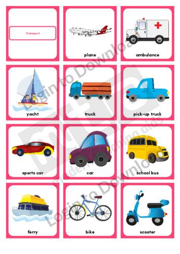 Transport (Portrait 12/page)