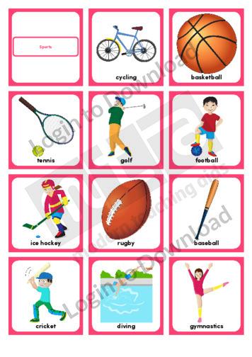Sports (Portrait 12/page)