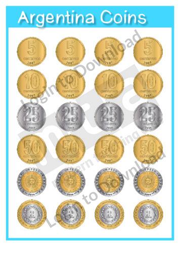 Argentina Coins