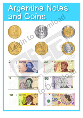 Argentina Notes and Coins