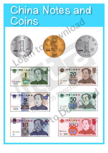 China Notes and Coins