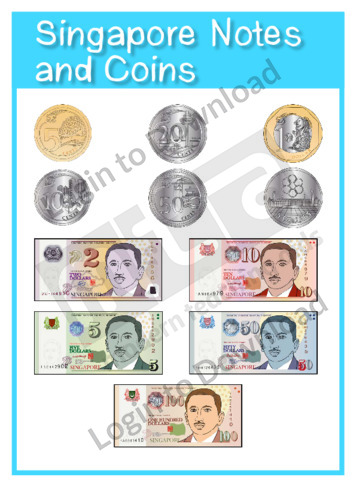 Singapore Notes and Coins