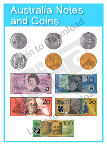 Australia Notes and Coins