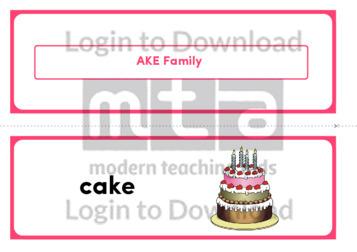 AKE Family (Landscape 2/page)