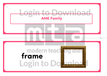 AME Family (Landscape 2/page)