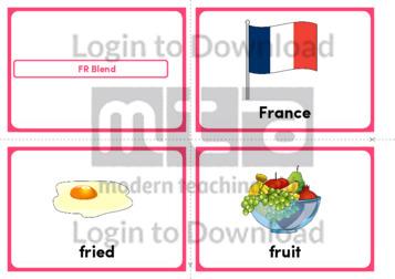 FR Blend (Landscape 4/page)
