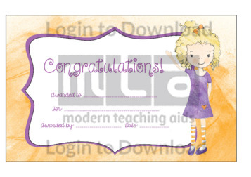 Congratulations! (Girl)