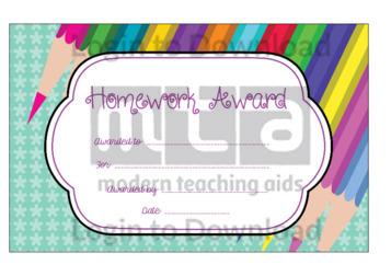 Homework Award 1