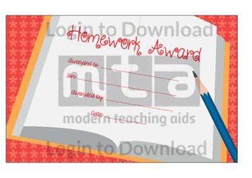 Homework Award 5