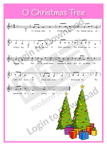 O Christmas Tree (sing-along)