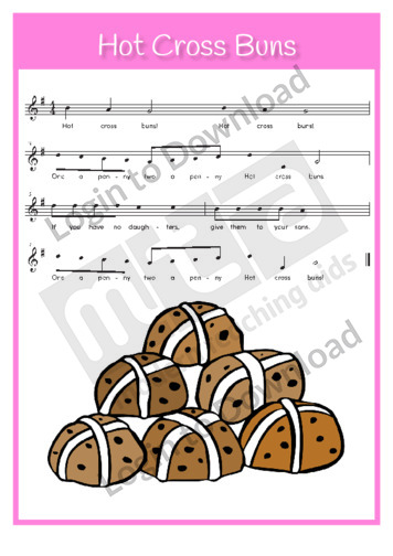 Hot Cross Buns (sing-along)