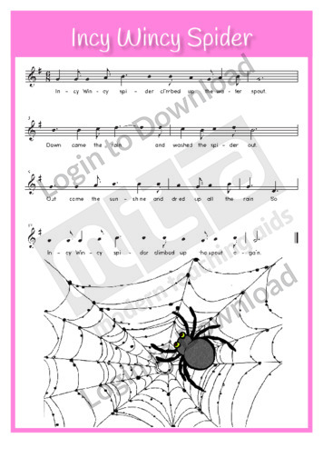 Incy Wincy Spider (sing-along)