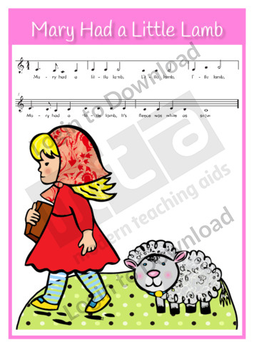 Mary Had a Little Lamb (sing-along)