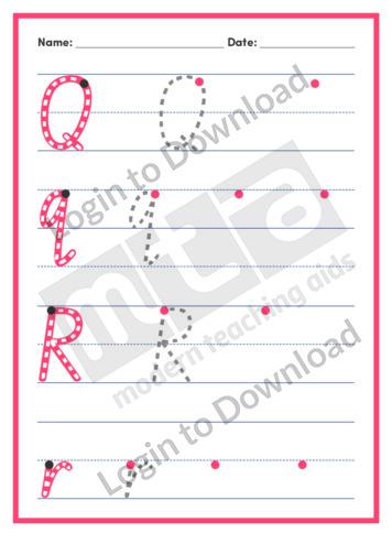 Letters QR