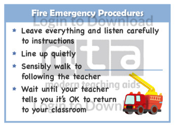 Fire Emergency Procedures