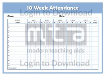 10 Week Attendance (landscape)
