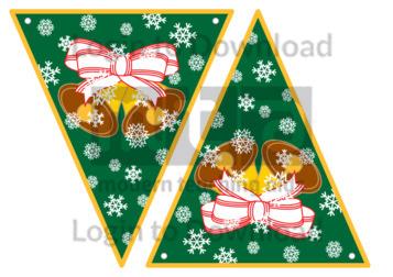 Christmas Bunting: Bells
