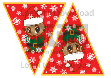 Christmas Bunting: Elf