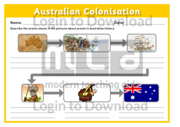 Australian Colonisation 1