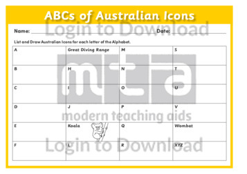 ABCs of Australian Icons