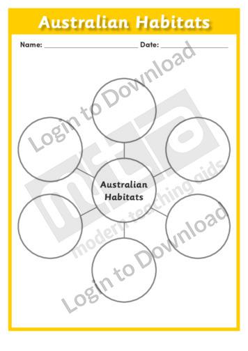 Australian Habitats 4