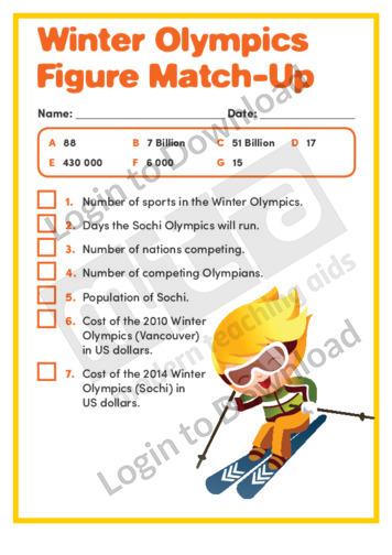 Winter Olympics Figure Match-up