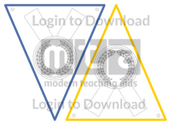 Olympic Medal Bunting Template